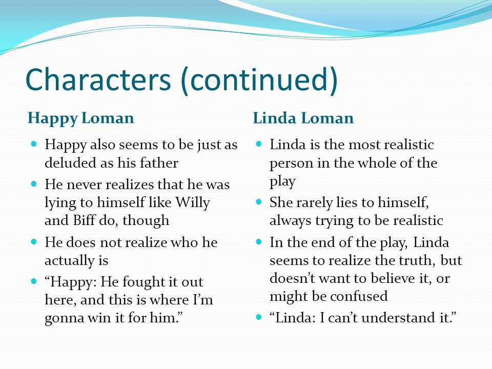 How The Death Of A Salesman Uses The Theme Of Identity Crisis Ppt