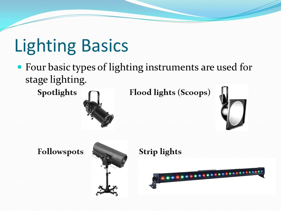 Lighting Equipment And Supplies