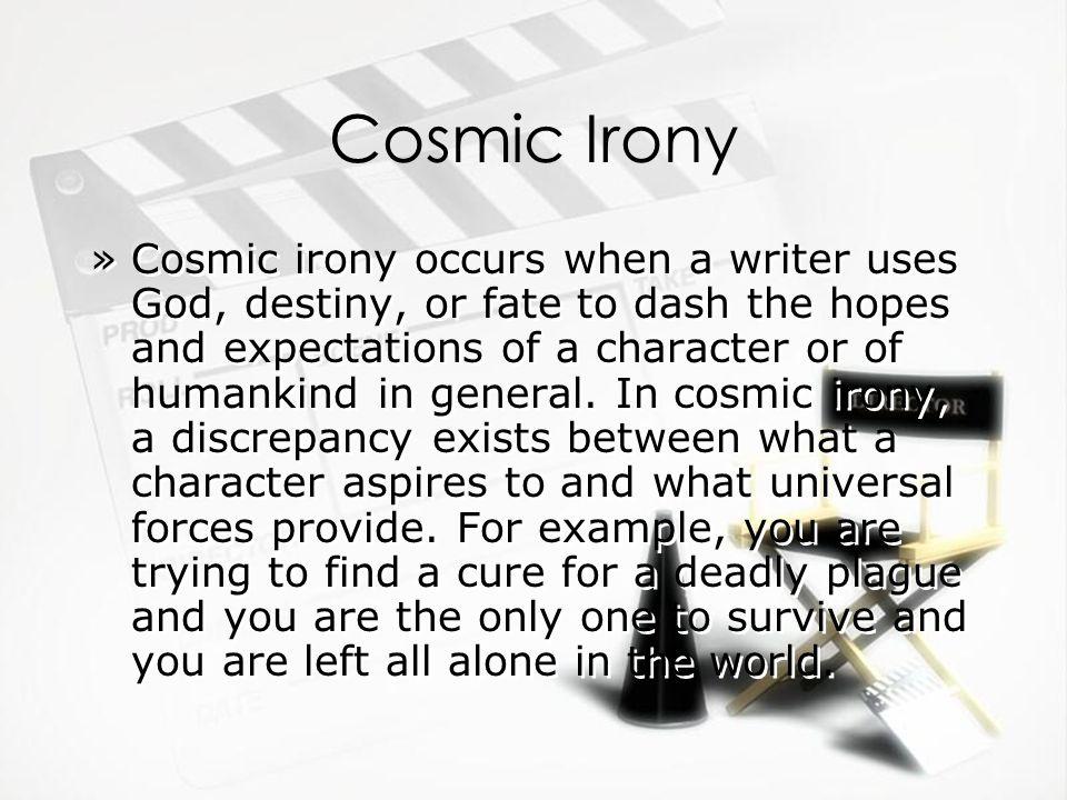 cosmic irony examples in literature