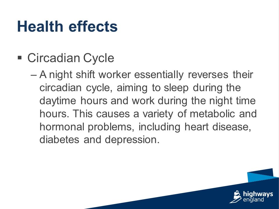 night shift workers and health
