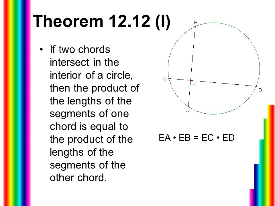 124 Segment Lengths In Circles Finding The Lengths Of Chords When