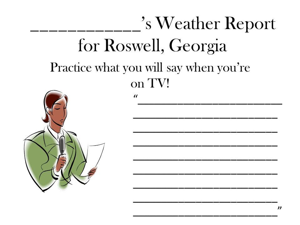 roswell ga weather