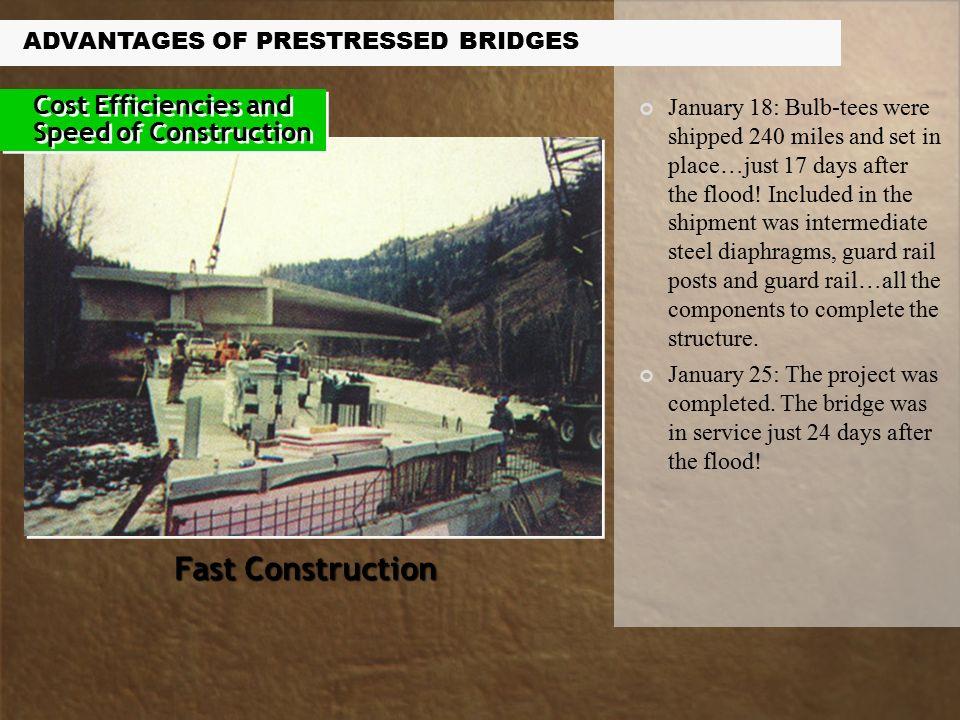 Advantages of Prestressed Concrete Bridges  Owners and