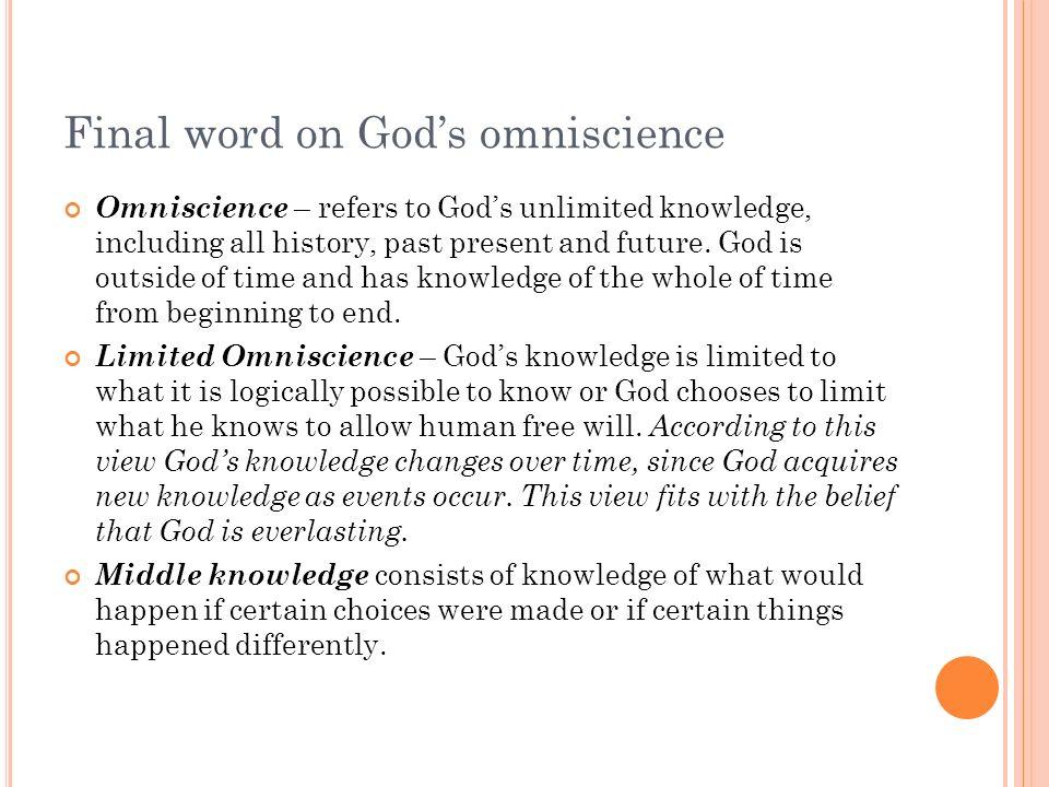 What is omnibenevolent