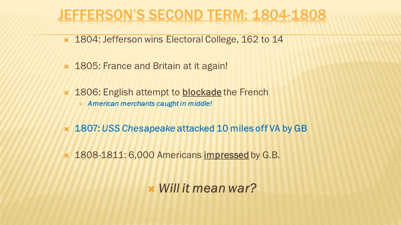 2 OBJECTIVES: Identify the causes of the war of 1812 Describe its Long-term  effects