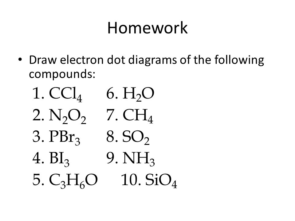 Electron Dot Diagrams Lewis Structures Atom And Covalent Compound