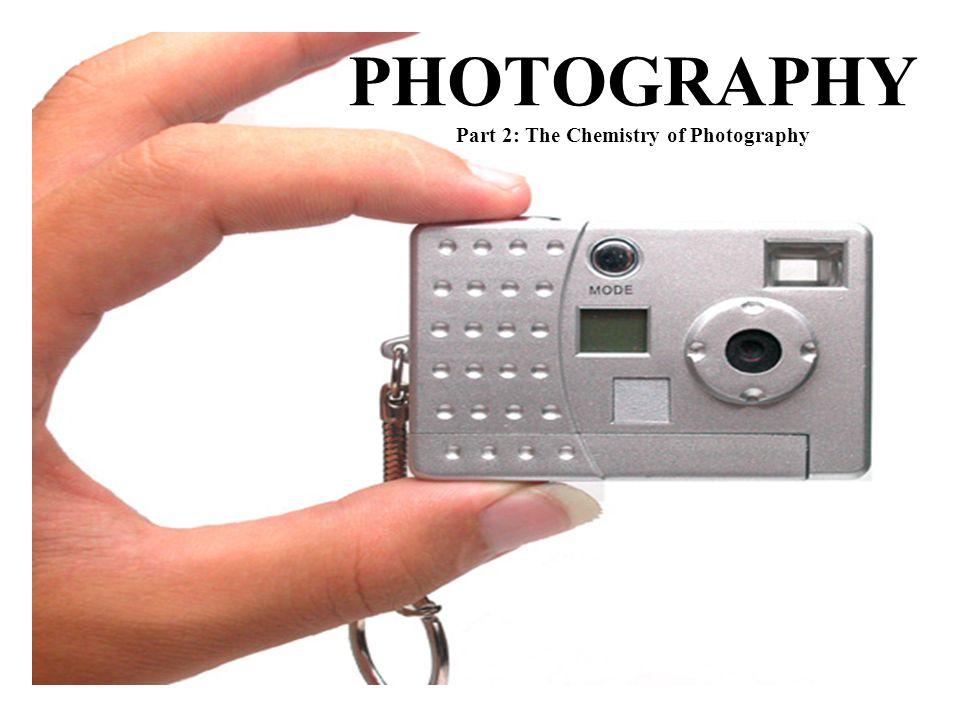 chemistry of photography