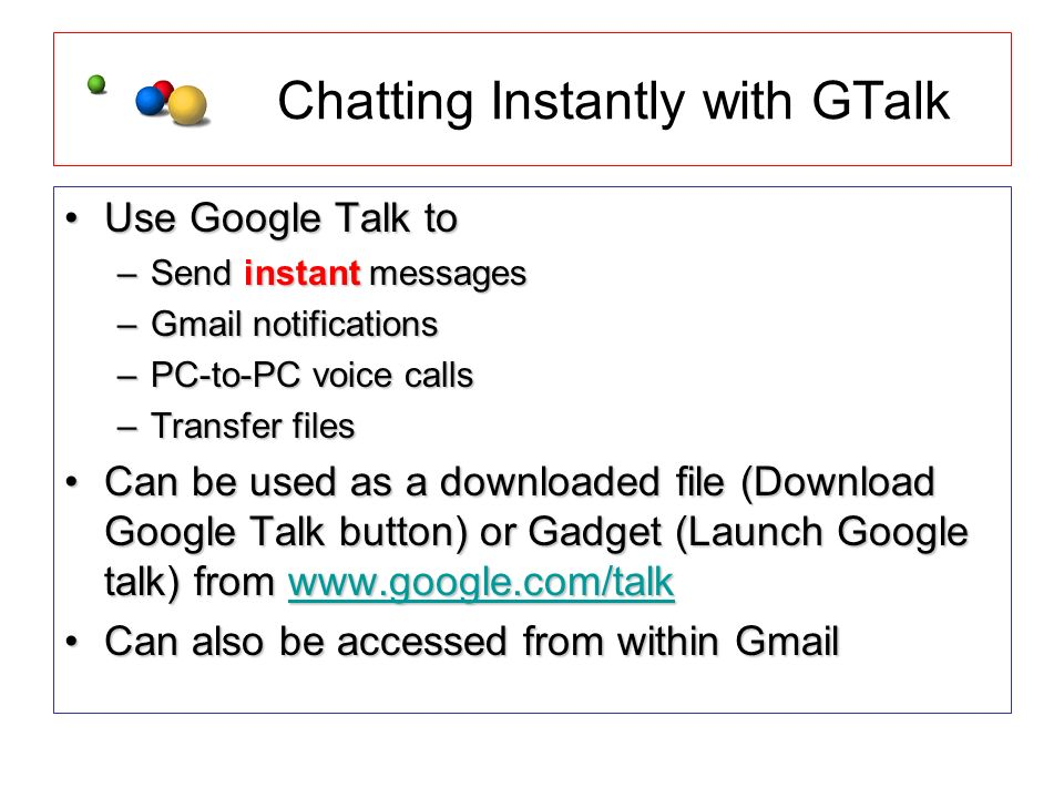 download gtalk