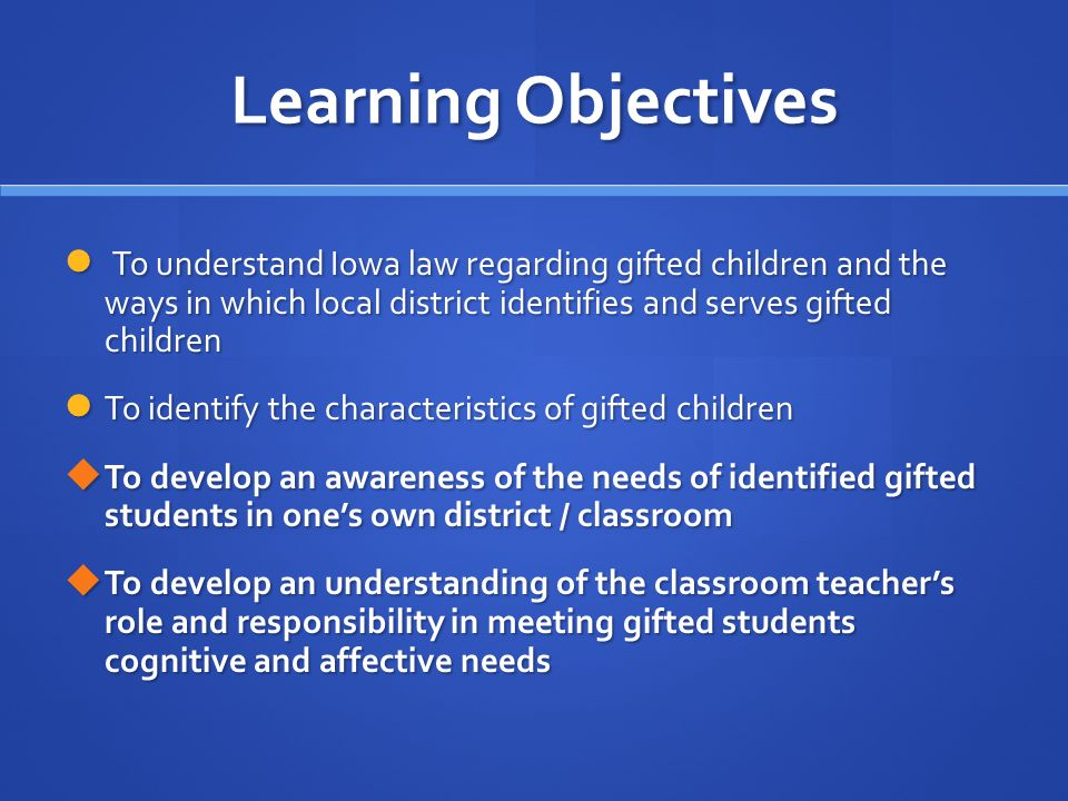 characteristics of gifted children in the classroom