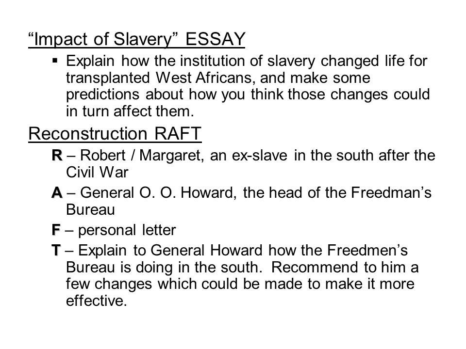 essay on institution