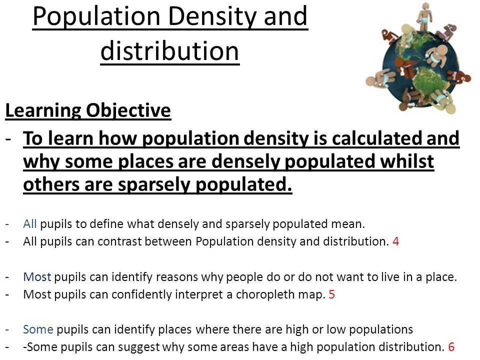 what does sparsely populated mean