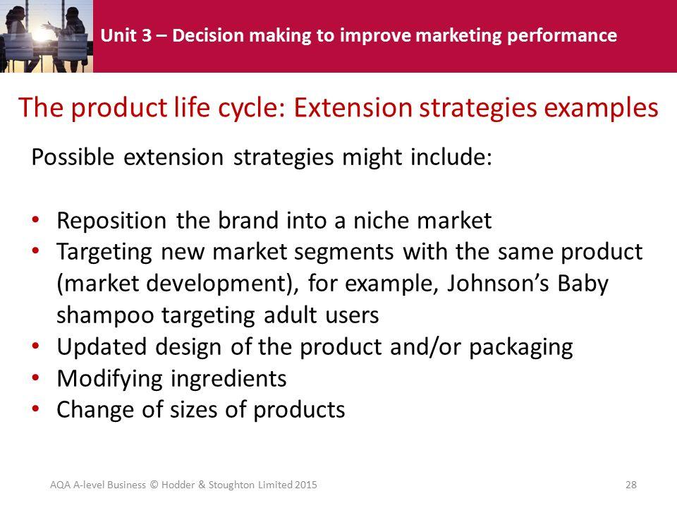 Unit 3 Decision Making To Improve Marketing Performance 3 4