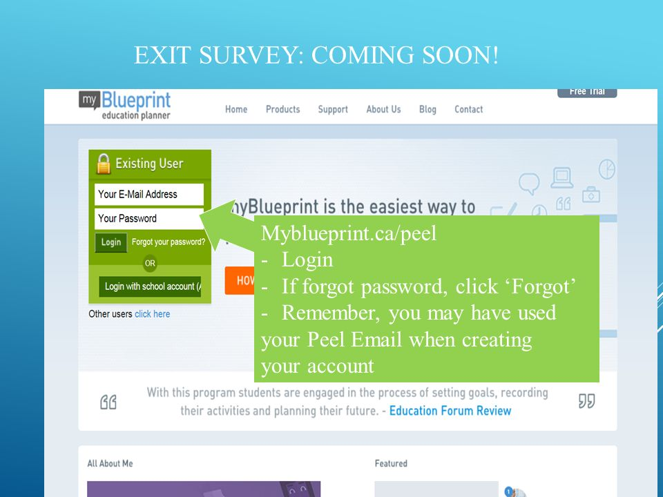 Applying to college what you need to know exit survey coming soon 2 exit malvernweather Images