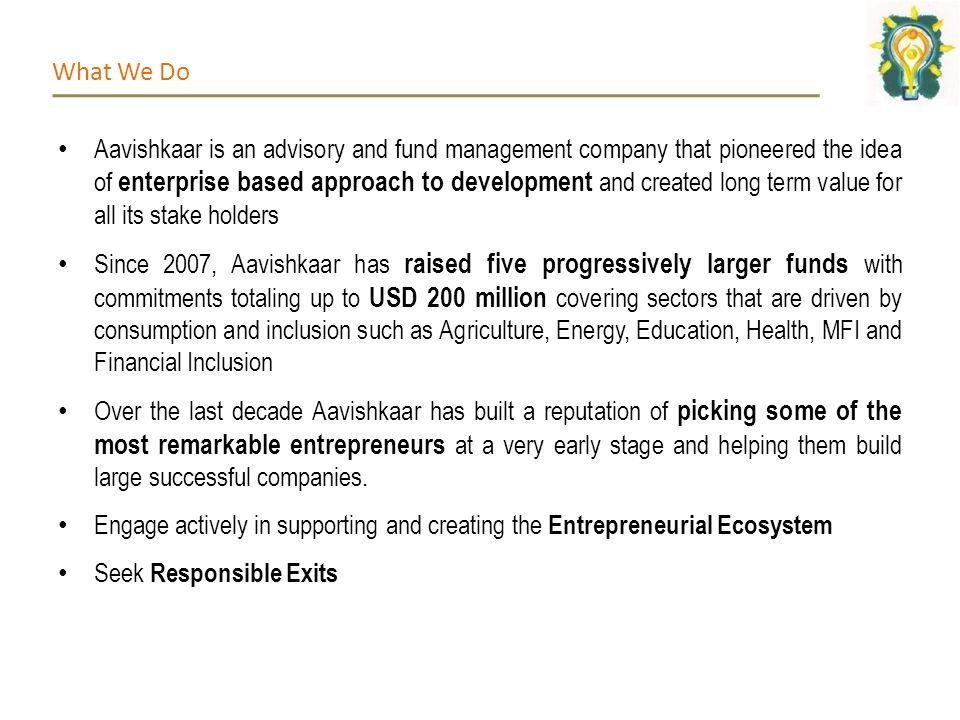 Aavishkaar Approach to VC Investing ADB Inclusive Business