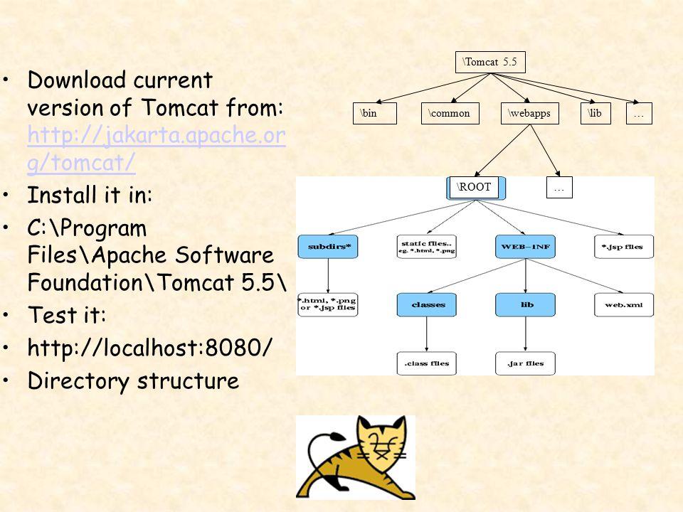 Free download tomcat 5. 5.