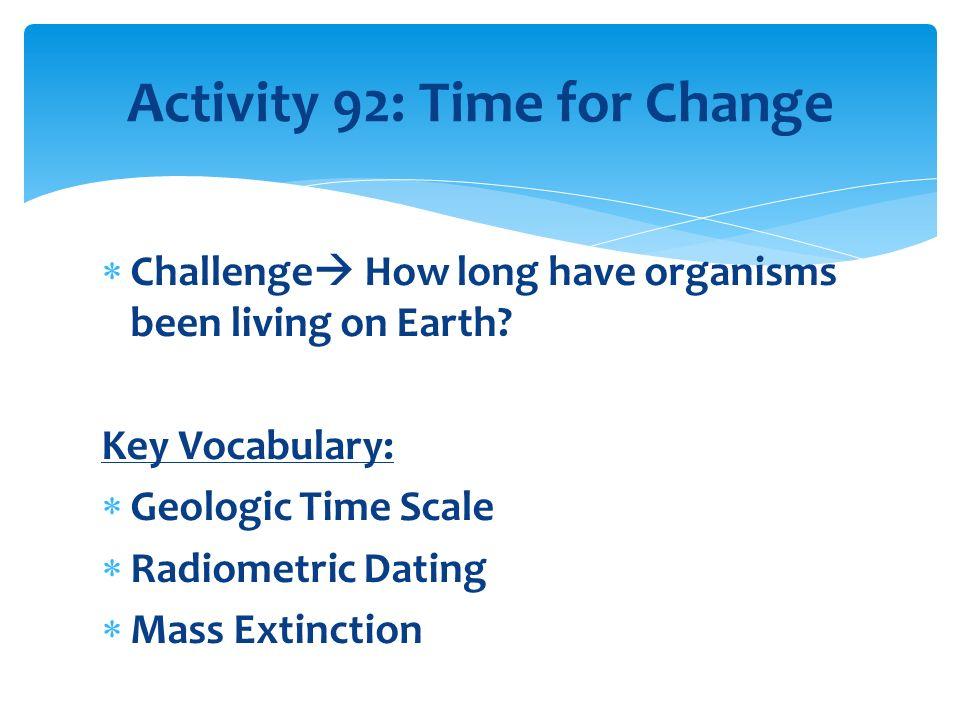 dating mass extinctions