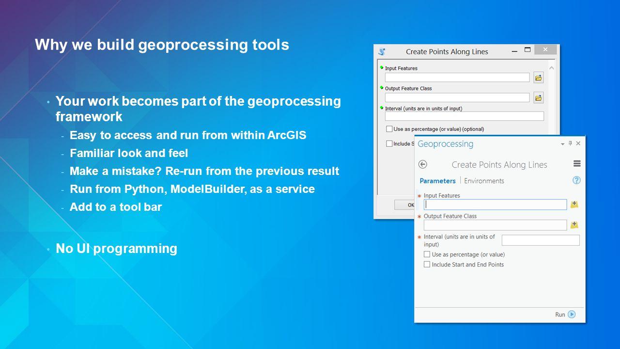 Python: Building Geoprocessing Tools David Wynne, Ghislain