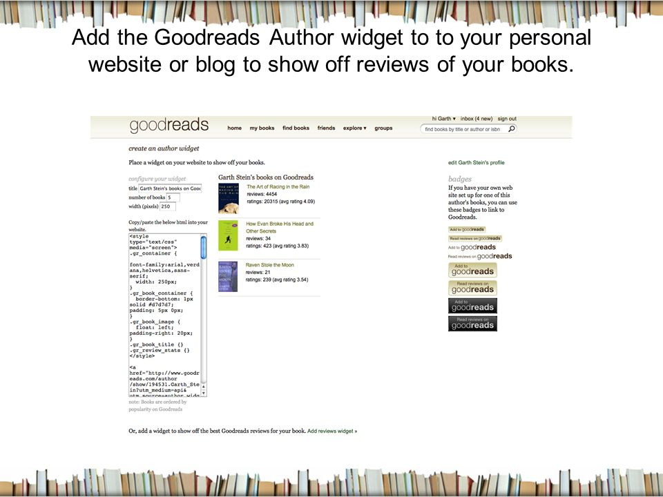 A Social Network for Book Lovers!  What is Goodreads