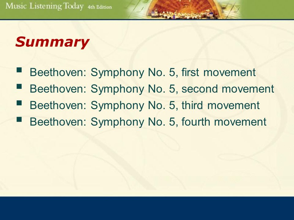 Begins on page 173 Chapter 21 The Symphony and Beethoven
