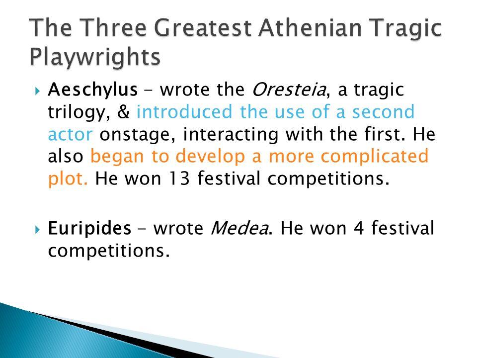 who wrote the oresteia