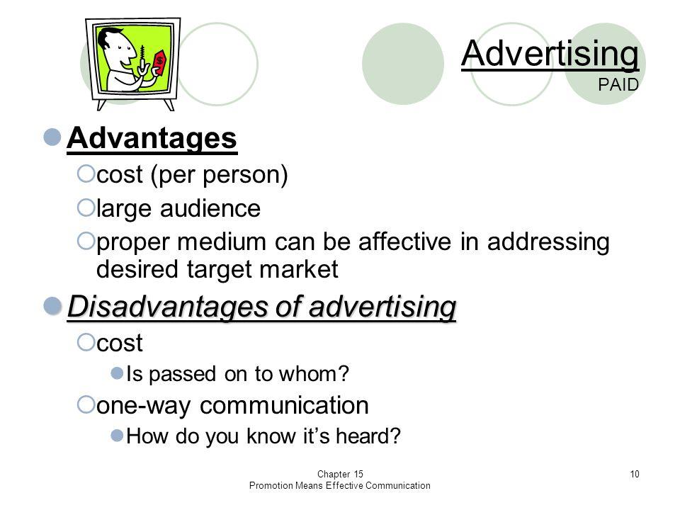 disadvantages of effective communication