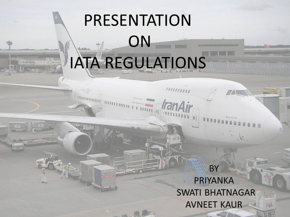 presentation on iata regulations by priyanka swati bhatnagar avneet rh slideplayer com Animated Bigfoot Doll Carriage