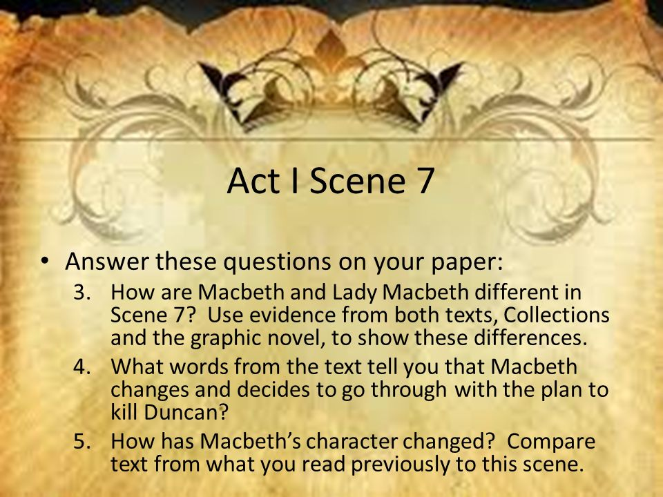 Take Out A Sheet Of Paper First And Last Name Date Period Subject   Act I Scene