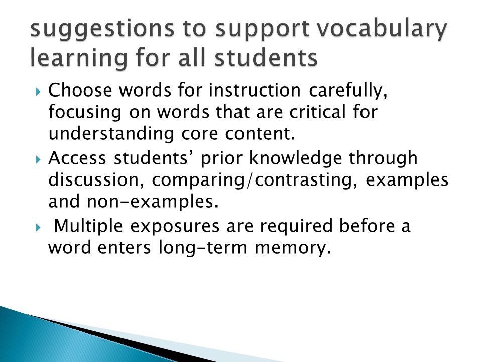 Wiki Creation Vocabulary Information And Strategies Vocabulary