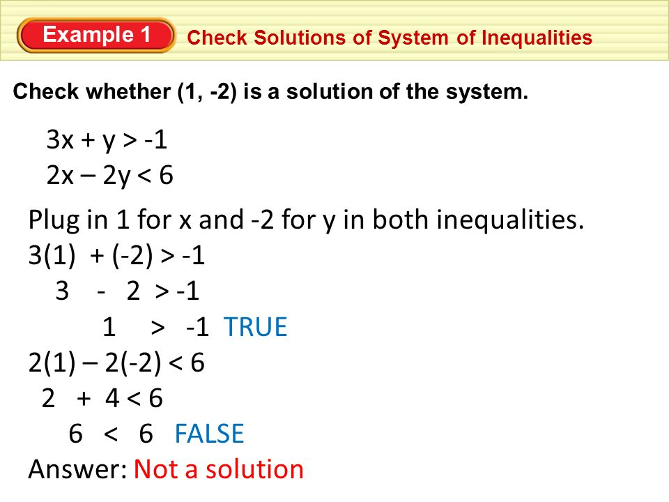 4 3 Solving Systems Of Linear Inequalities 11 7 Ppt Download
