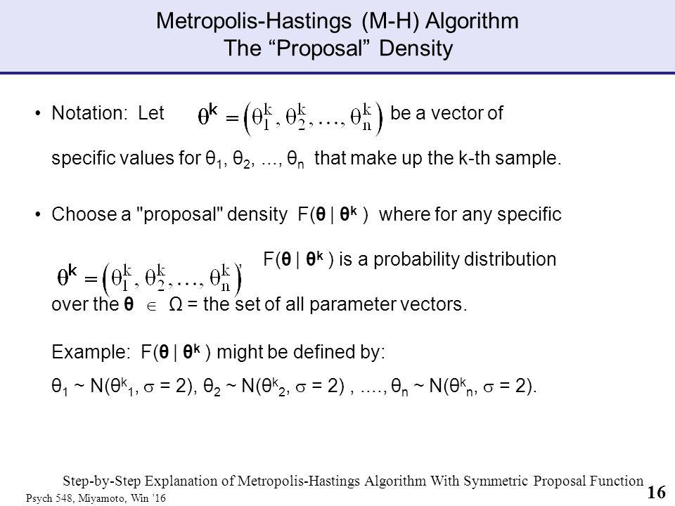 Markov-Chain-Monte-Carlo (MCMC) & The Metropolis-Hastings