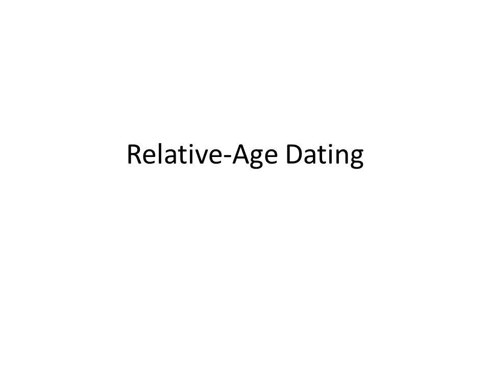 relativ dating Earth Science Lab