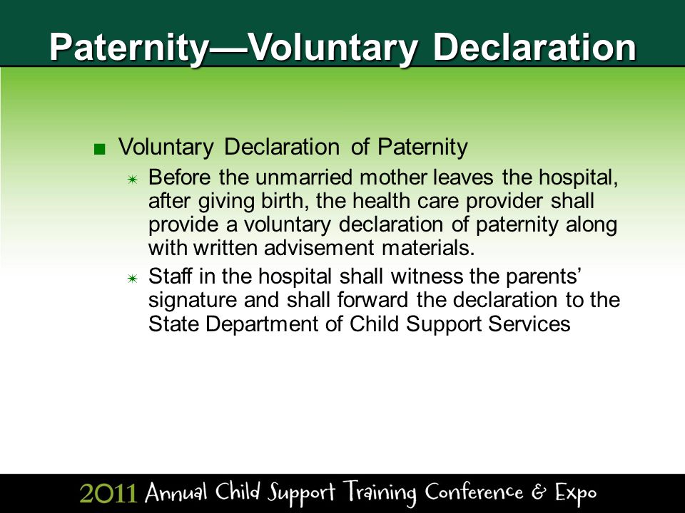 paternity essay With paternity leave the men are given the privilege of being able to share in on the first stages of the child's life they also get the opportunity of being there for the child so dad can get to know the child and learn the needs the child has.