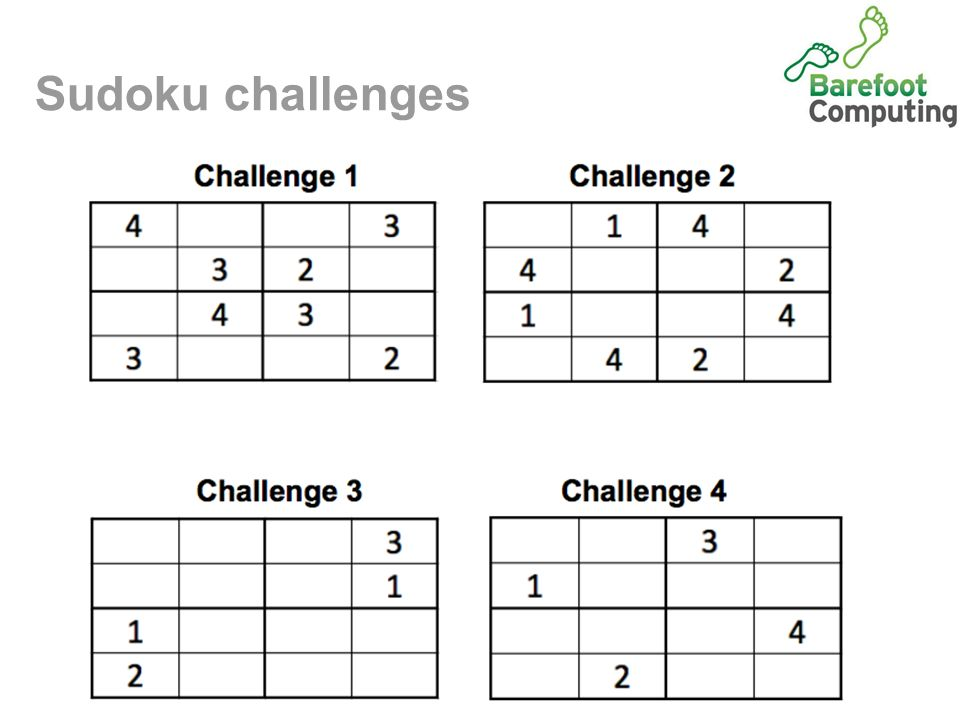 An introduction to logical reasoning: Sudoku  Today we are learning