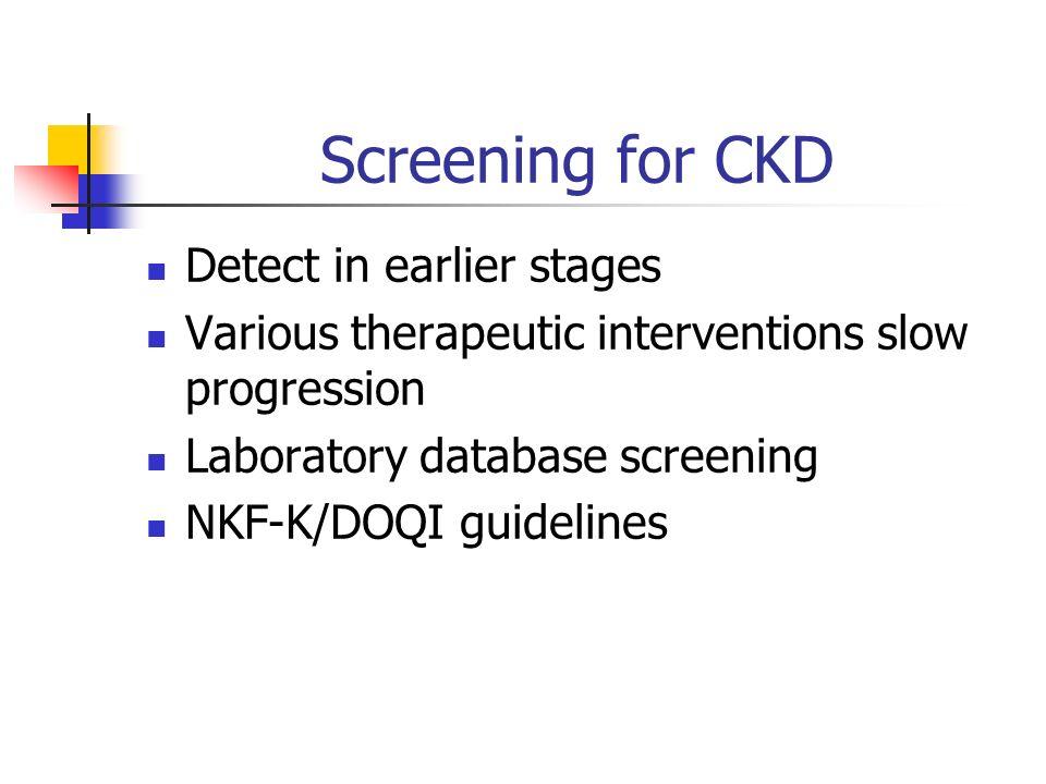 Chronic Kidney Disease Thomas W  Ozbirn Jr  Nephrology