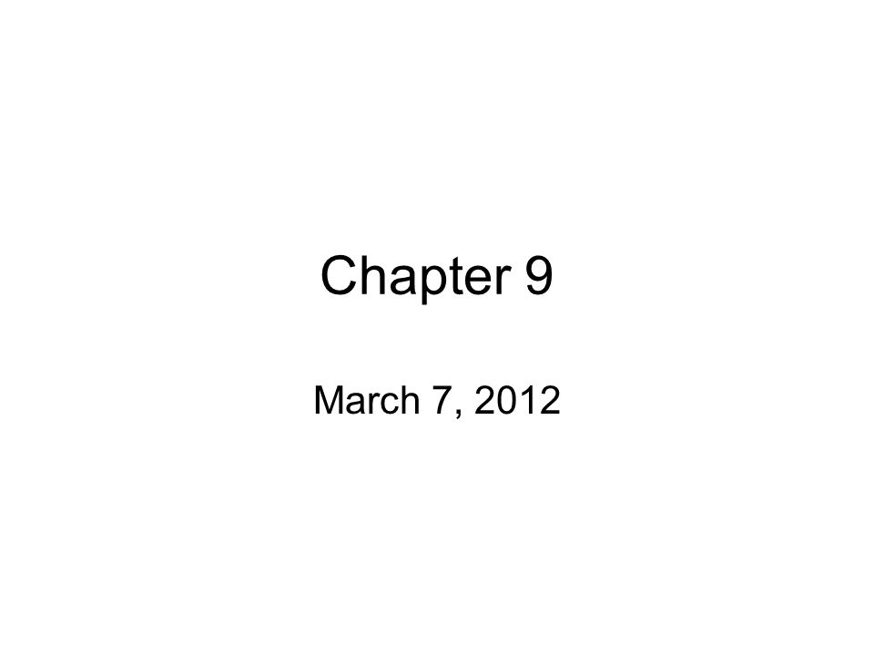 Chapter 9 March 7, Evolution – genetically controlled changes in ...