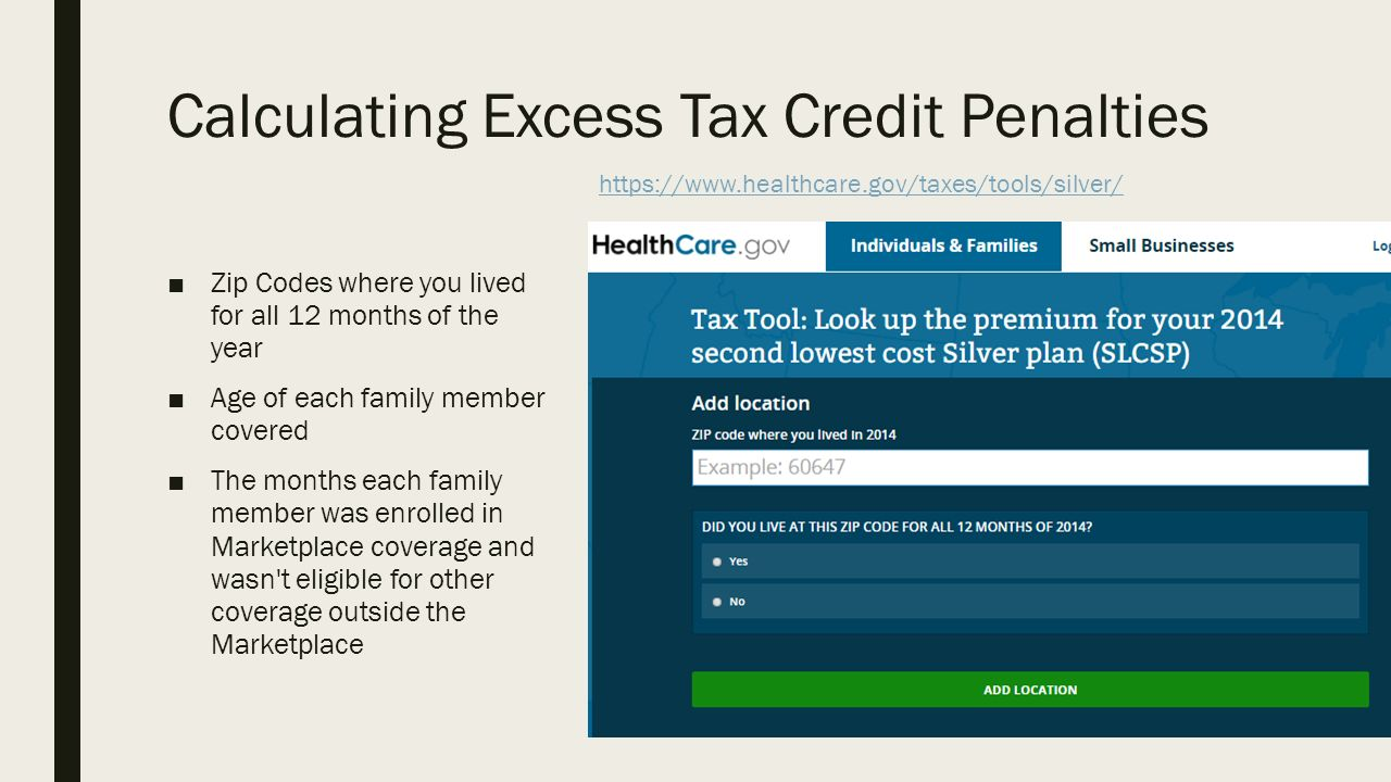 THE AFFORDABLE CARE ACT & TAXES A resource for Navigators and