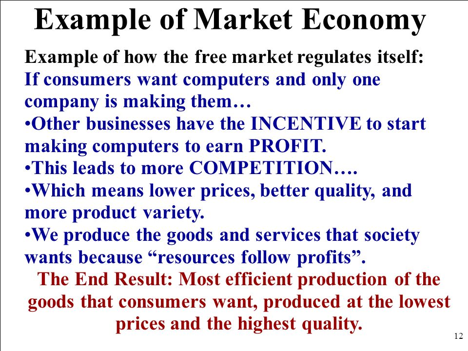 Example Of A Market Economy Images Example Cover Letter For Resume