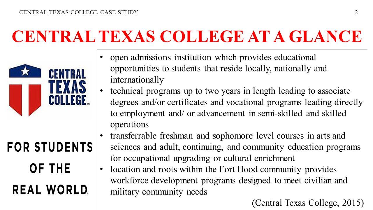central texas college transcripts