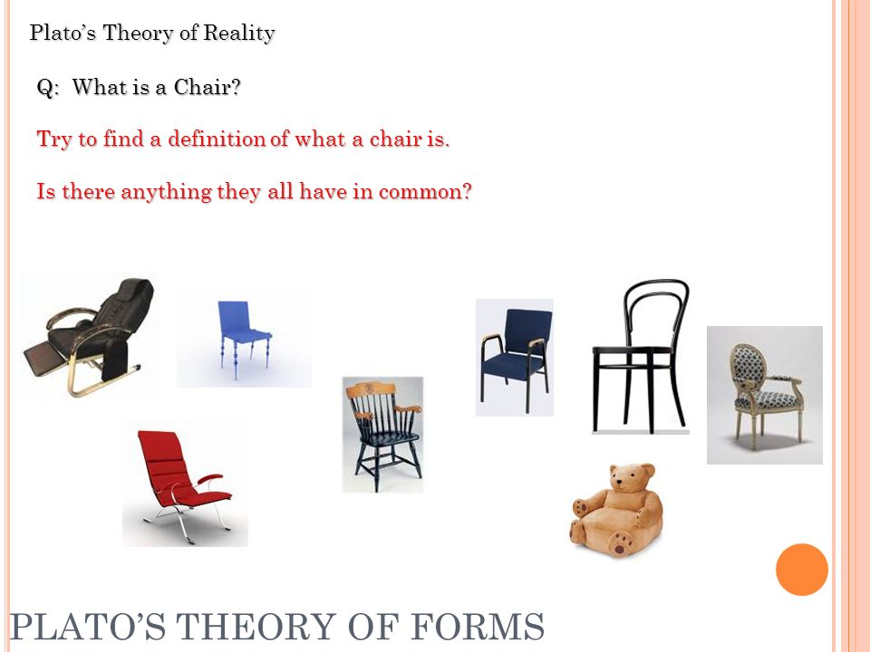 explain platos theories of form Aristotle thought that plato's theory of forms with its two separate realms failed to explain what it was meant to explain that is, it failed to explain how there could be permanence and order in this world and how we could have objective knowledge of this world.