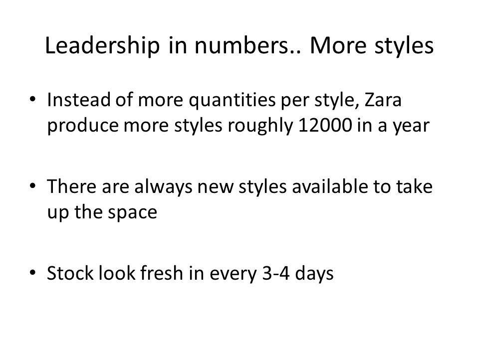 zara organizational structure