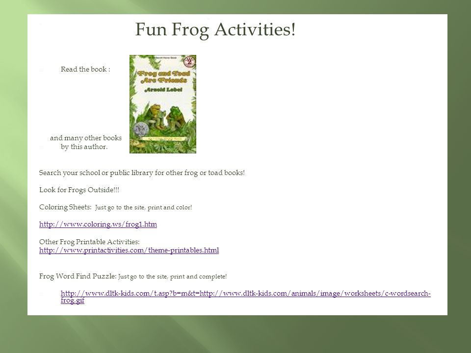 photograph about Frog and Toad Are Friends Printable Activities referred to as Christa Gates EDU 505. Advent: Yourself will understand how