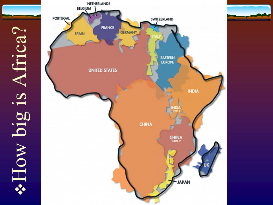 Map Of Germany Landforms.How Big Is Africa Landforms And Resources Of Africa Objective