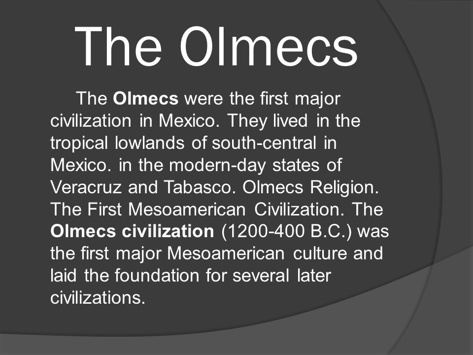 The olmecs the olmecs were the first major civilization in mexico 2 the olmecs publicscrutiny Images