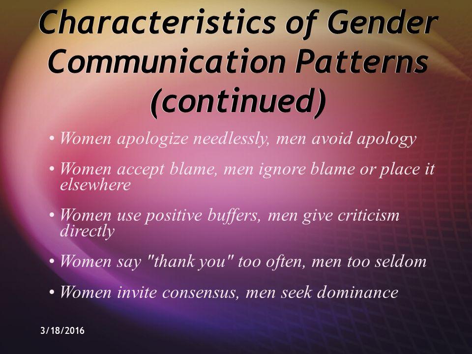 why do men ignore women