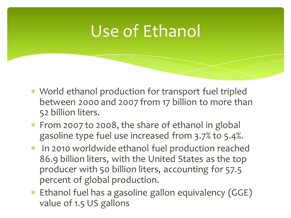 corn ethanol the future fuel essay The restrictions on available land and the rising price pressures would soon limit the production of grain and corn based ethanol to less than 8% in the us transport fuel mix (tyner, 2008.