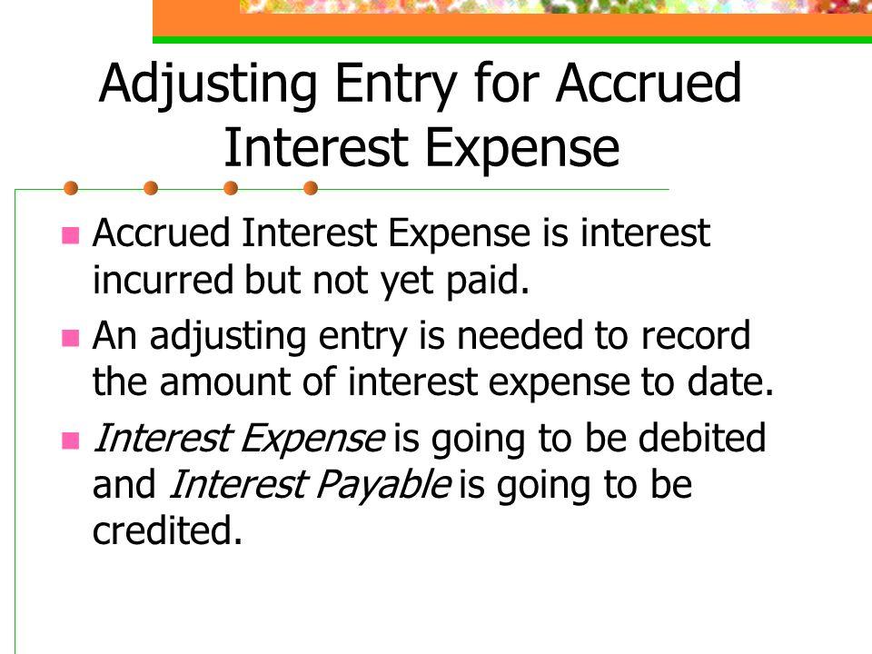 Accrued Interest Definition