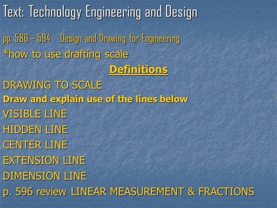 Text: Technology Engineering and Design pp.