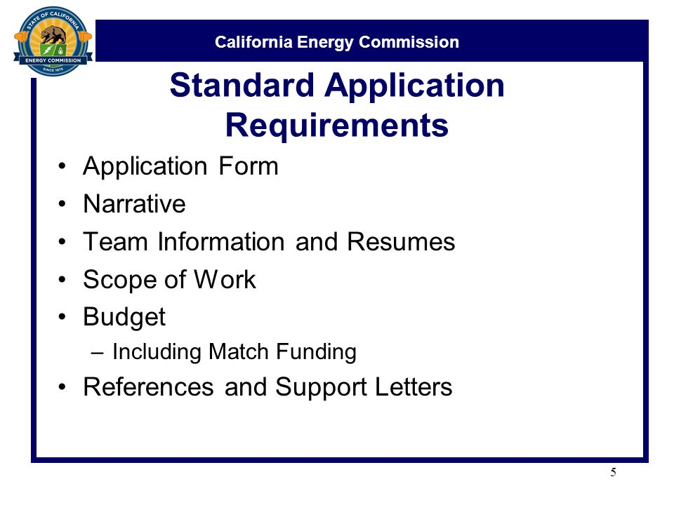 California Energy Commission Solicitation Process Presentation ...