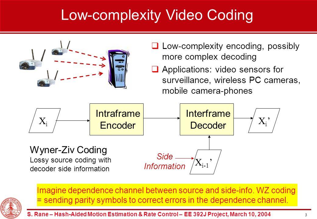 1 Department of Electrical Engineering, Stanford University EE 392J