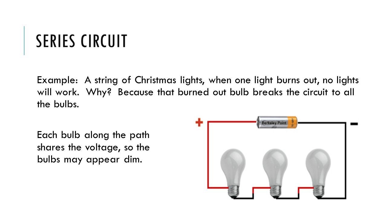 Electricity Intro To Agriculture Aaec Pv Spring Ppt Download Christmas Lights Series Circuit 17 Example A String Of